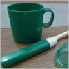 Plastic Travel Toothbrush Cup
