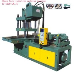 Shoes sole injection molding machine