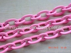decorative pattern metal chains link