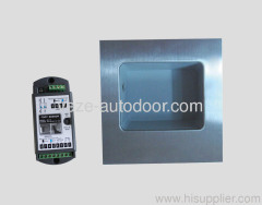 Foot sensor switch for automatic doors