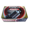 Magnet spark plug packing