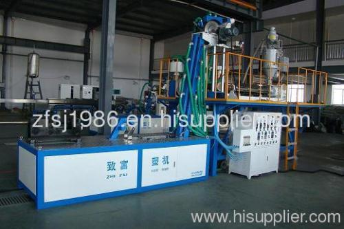 high speed single blade labyrinth drip irrigation pipe making machine