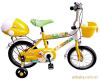 yellow bike bicycle for kids children