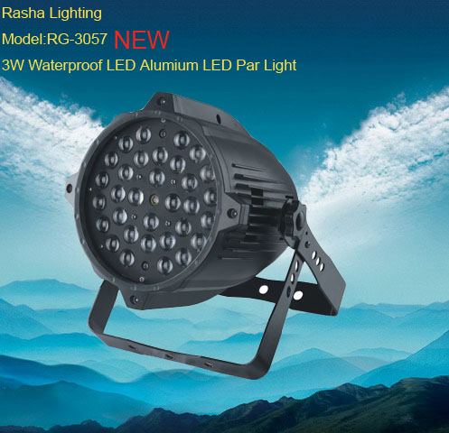 NEW Waterproof 3W*36pcs LED Par Light for Stage Effect Light for concert