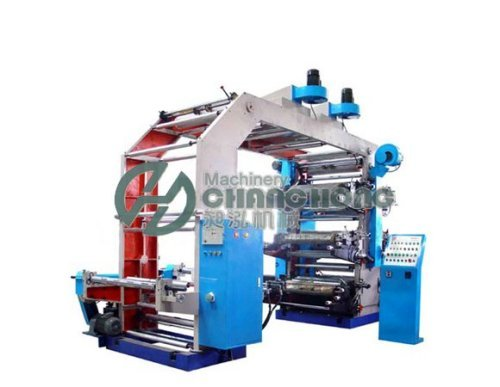6 Color Super-thin Material Flexographic Printing Machine