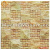 cut surface marble mosaic wall - Good Quality