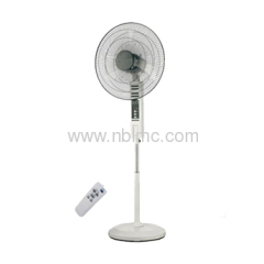 rechargeable battery fan with remote
