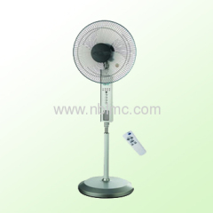 Stand oscillating rechargeable fan