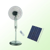 rechargeable solar power stand fan