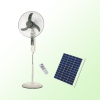 rechargeable home solar power fan