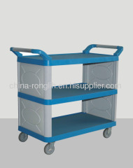 3 Layers Plastic service cart