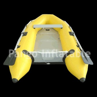 Golden Inflatable Boat
