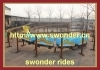 Absorbing Kiddie Amusement Rides Mini Roller Coaster with Track