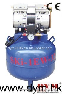 SKI one for one silence oil-free compressor