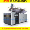 extrusion plastic blow mould machine