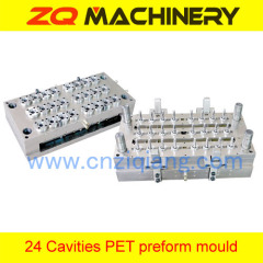 plastic preform injection mold