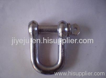 European D shackle