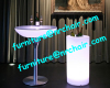 Acrylic led wine cooler