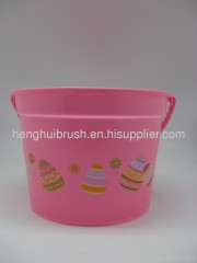 Easter plastic bucket