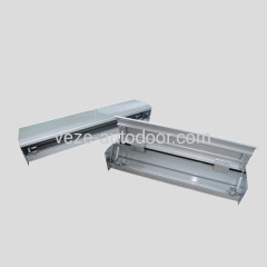 Automatic door aluminium cover