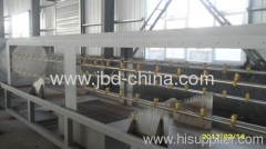 HDPE plastic pipe production line