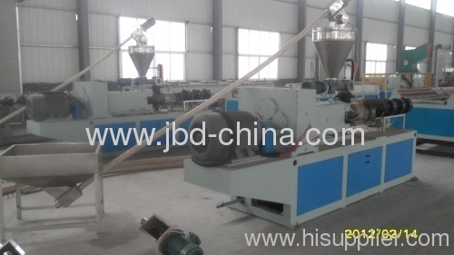 Quality Conical twin screw extruder