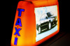 ZHD1-0001 Illuminated double sides taxi top advertisement light box