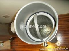 Single Stainless Steel Eco-it Bag Filter Filtrations