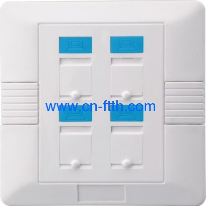 Foursquare Four Port Face Plate 86*86 type