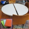Modern Commercial Acrylic Solid Surface Coffee Table/Cafe Table