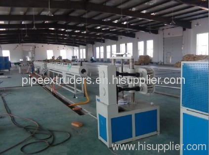 water supply pipe prodcution line