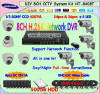 8CH CCTV Security Camera & DVR Surveillance System