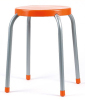 Metal Stool With Plastic Seat