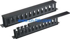 1U Plastic Cable Manager