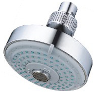 Polished Chrome 4-Function Spray Overhead Shower Head