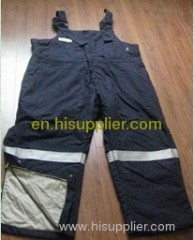 CN FR suspender trousers