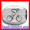 european bike sterling silver beads cycling-track charms