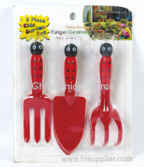 3pcs Cartoon Plastic Garden Set For Children