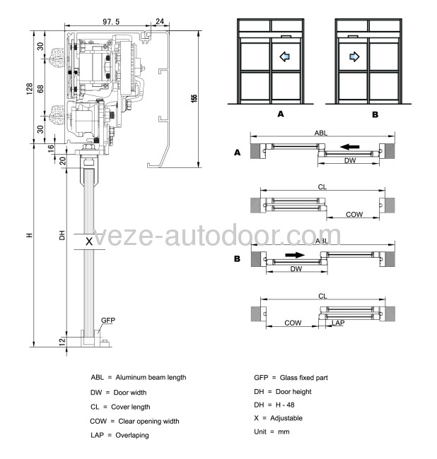 Automatic Sliding Door Diagrams Products China Products