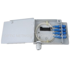 Indoor Metal Type 4 to 16 fibers Optical Termination Box (Adapter Output)