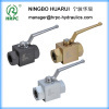 hydraulic 2- way ball valve in male/female threaded connection (China supplier)