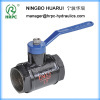 low pressure hydraulic water ball valve with BSP 1inch female thread