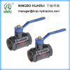 forged steel water low pressure 2 way ball valve for water fluid