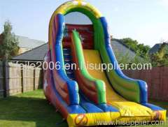 new PVC inflatable bouncy slide