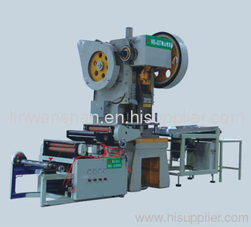 WB-63T Aluminium foil container production line