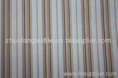 100%Cotton Yarn Dyed Stripe Woven Fabric