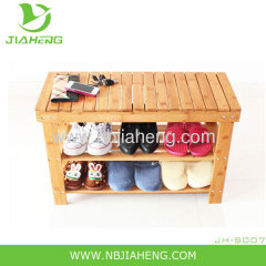 Collection Bamboo Stackable Shoe rack