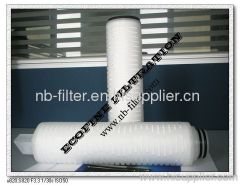 Microporous Membrane Pleated Filter Cartridge