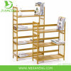 Sustainable Multifunctional Bamboo 3 Shelf Bookcase