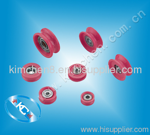 Alumina ceramic guide pulley